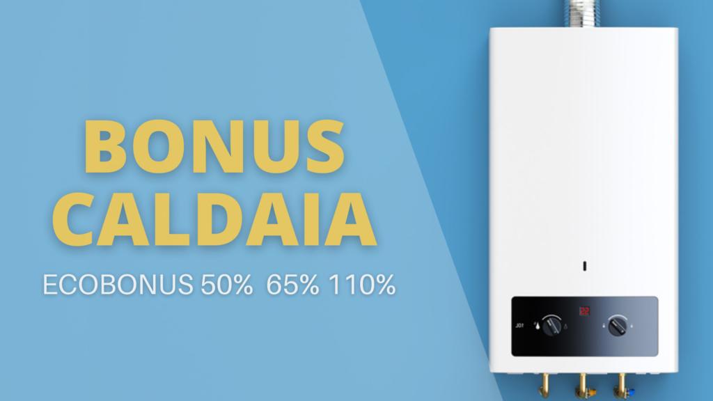 copertina Bonus Caldaia - ecobonus 50-65-110%
